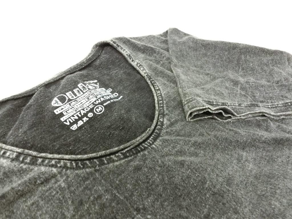 ouky vintage wosh tshirt black view