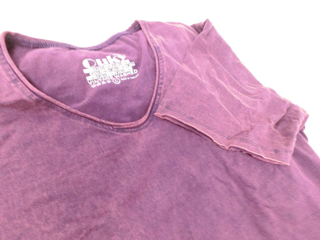 ouky vintage wosh tshirt purple view