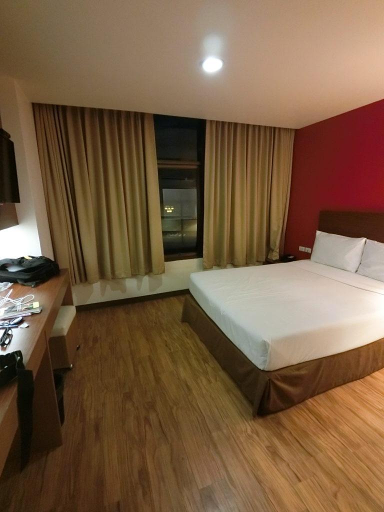 ルアムチットホテルの客室