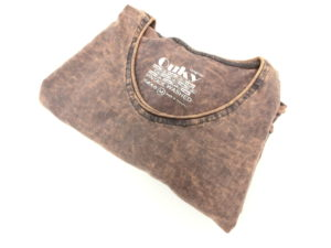 ouky vintage wosh tshirt brown