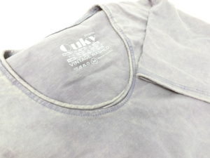 ouky vintage wosh tshirt gray view