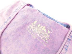 ouky vintage wosh tshirt sakura logo