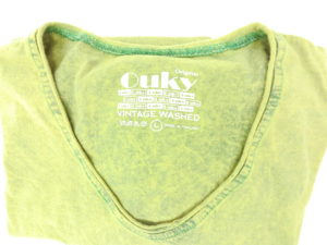 ouky vintage wosh tshirt maccha view logo