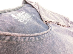 ouky vintage wosh tshirt deep brown view