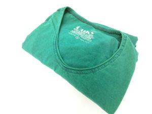 ouky vintage wosh tshirt green