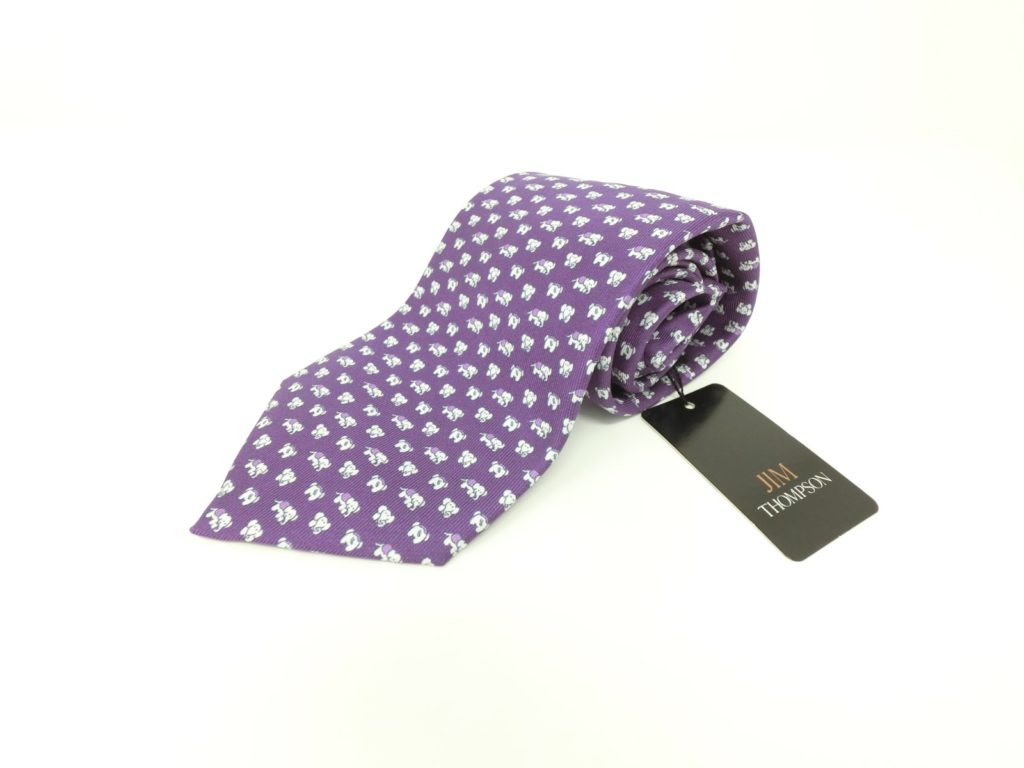 jimthompson-thai-silk-tie-dot-elephant-pattern-purple