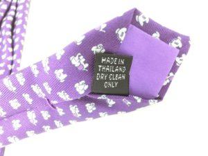 jimthompson-thai-silk-tie-dot-elephant-pattern-purple-tag1