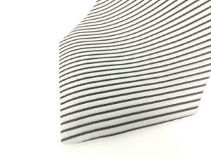 jimthompson-thai-silk-tie-black-stripe-silver-view