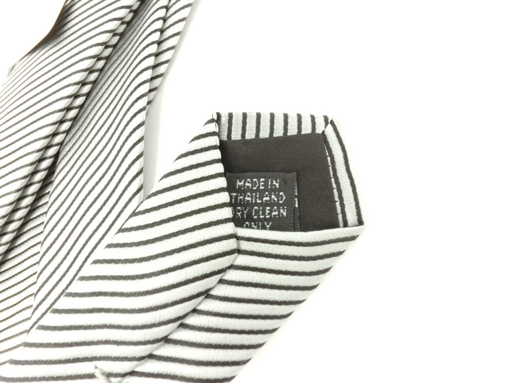 jimthompson-thai-silk-tie-black-stripe-silver-tag