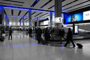 男のタイ旅行 空港 時間