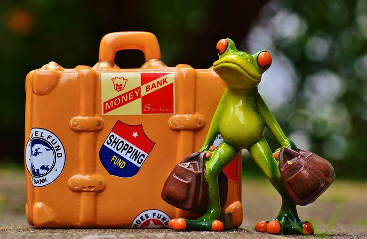 男のタイ旅行 大量の荷物