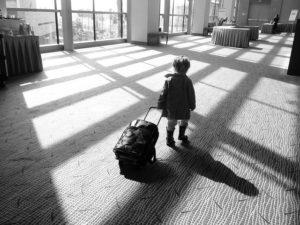 男のタイ旅行 荷物