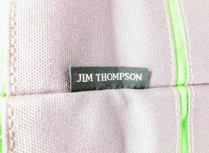 JIM THOMPSON トートバッグ グレー tag