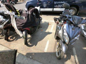 パタヤ バイクレンタル