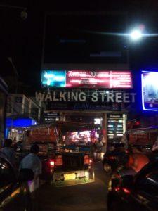 パタヤ ウォーキングストリート