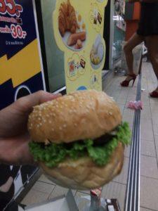 パタヤ ハンバーガー