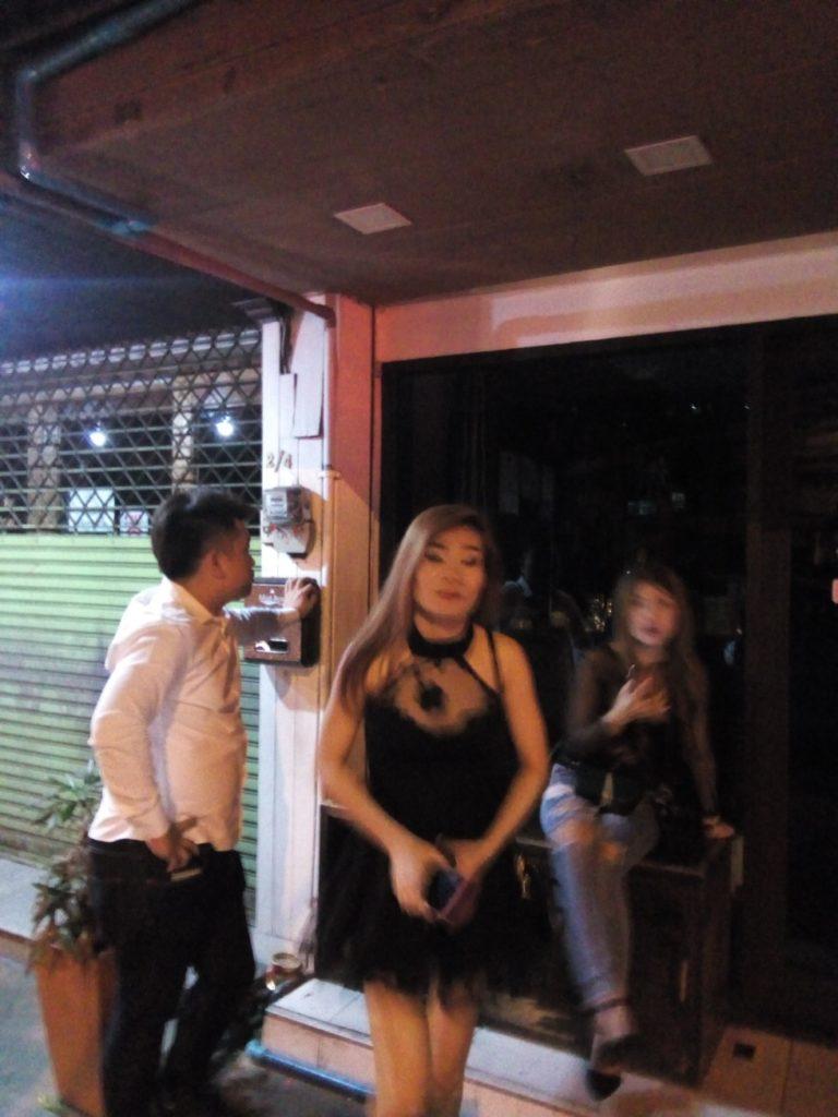 タイ旅行 スクラッチドッグ