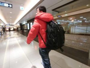 タイ旅行 ダウンジャケット